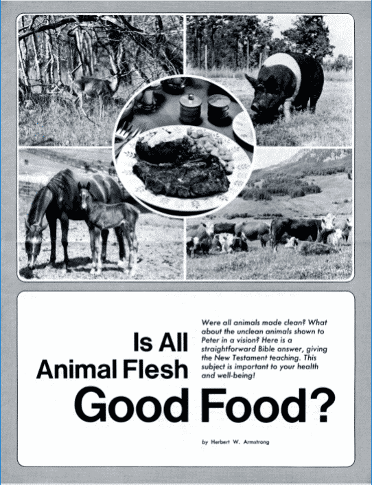 Is All Animal Flesh Good For Food